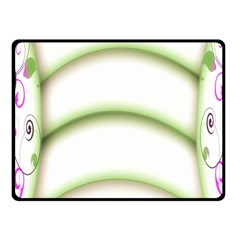 Abstract Background Fleece Blanket (small)