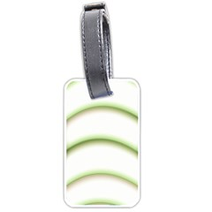 Abstract Background Luggage Tags (two Sides)