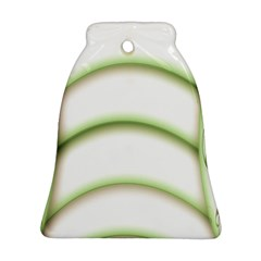 Abstract Background Bell Ornament (Two Sides)