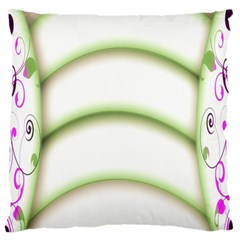 Abstract Background Large Cushion Case (two Sides)