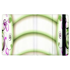 Abstract Background Apple Ipad 2 Flip Case