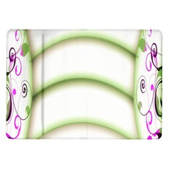 Abstract Background Samsung Galaxy Tab 10.1  P7500 Flip Case
