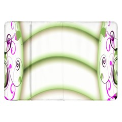 Abstract Background Samsung Galaxy Tab 8.9  P7300 Flip Case