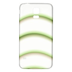 Abstract Background Samsung Galaxy S5 Back Case (White)