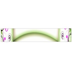 Abstract Background Flano Scarf (large)