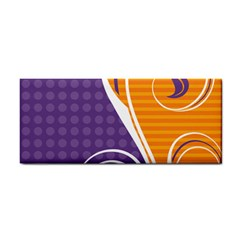 Leaf Polka Dot Purple Orange Cosmetic Storage Cases