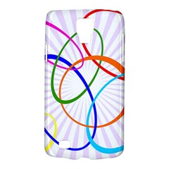 Abstract Background With Interlocking Oval Shapes Galaxy S4 Active
