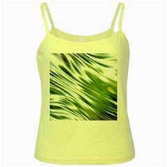 Fluorescent Flames Background Light Effect Abstract Yellow Spaghetti Tank