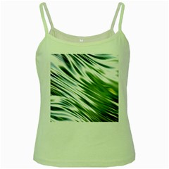 Fluorescent Flames Background Light Effect Abstract Green Spaghetti Tank