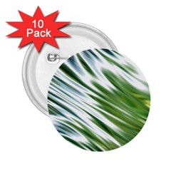 Fluorescent Flames Background Light Effect Abstract 2 25  Buttons (10 Pack)