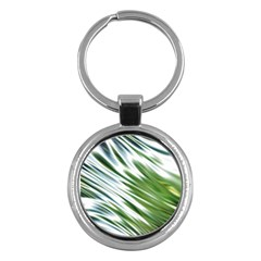 Fluorescent Flames Background Light Effect Abstract Key Chains (Round)