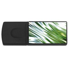 Fluorescent Flames Background Light Effect Abstract USB Flash Drive Rectangular (1 GB)