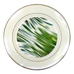 Fluorescent Flames Background Light Effect Abstract Porcelain Plates