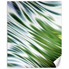 Fluorescent Flames Background Light Effect Abstract Canvas 16  x 20