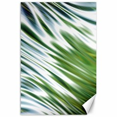 Fluorescent Flames Background Light Effect Abstract Canvas 24  x 36