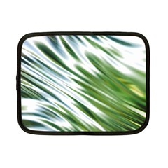 Fluorescent Flames Background Light Effect Abstract Netbook Case (Small)