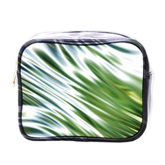 Fluorescent Flames Background Light Effect Abstract Mini Toiletries Bags