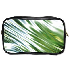 Fluorescent Flames Background Light Effect Abstract Toiletries Bags 2 Side