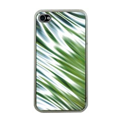 Fluorescent Flames Background Light Effect Abstract Apple iPhone 4 Case (Clear)