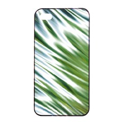 Fluorescent Flames Background Light Effect Abstract Apple Iphone 4/4s Seamless Case (black)