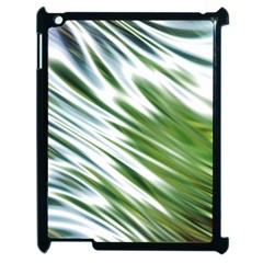 Fluorescent Flames Background Light Effect Abstract Apple Ipad 2 Case (black)