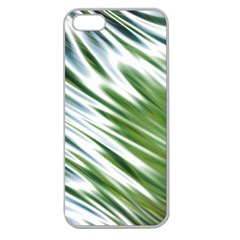 Fluorescent Flames Background Light Effect Abstract Apple Seamless Iphone 5 Case (clear)