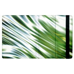 Fluorescent Flames Background Light Effect Abstract Apple iPad 3/4 Flip Case