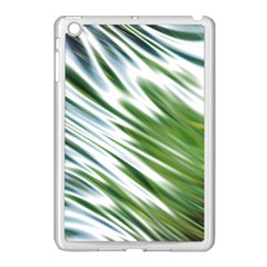 Fluorescent Flames Background Light Effect Abstract Apple iPad Mini Case (White)