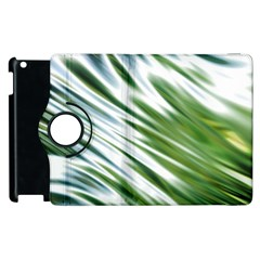 Fluorescent Flames Background Light Effect Abstract Apple iPad 3/4 Flip 360 Case