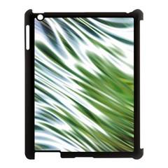 Fluorescent Flames Background Light Effect Abstract Apple iPad 3/4 Case (Black)