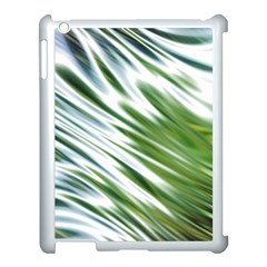 Fluorescent Flames Background Light Effect Abstract Apple Ipad 3/4 Case (white)