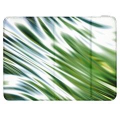 Fluorescent Flames Background Light Effect Abstract Samsung Galaxy Tab 7  P1000 Flip Case