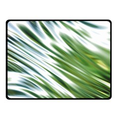 Fluorescent Flames Background Light Effect Abstract Double Sided Fleece Blanket (small)