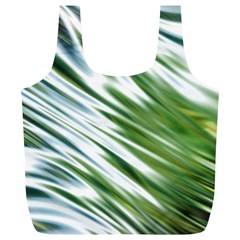 Fluorescent Flames Background Light Effect Abstract Full Print Recycle Bags (L)
