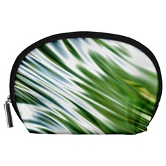 Fluorescent Flames Background Light Effect Abstract Accessory Pouches (Large)