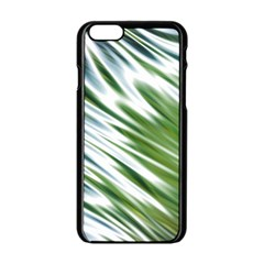 Fluorescent Flames Background Light Effect Abstract Apple Iphone 6/6s Black Enamel Case