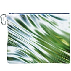 Fluorescent Flames Background Light Effect Abstract Canvas Cosmetic Bag (xxxl)