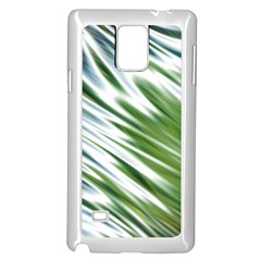 Fluorescent Flames Background Light Effect Abstract Samsung Galaxy Note 4 Case (White)