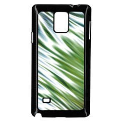 Fluorescent Flames Background Light Effect Abstract Samsung Galaxy Note 4 Case (Black)
