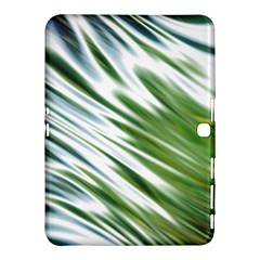 Fluorescent Flames Background Light Effect Abstract Samsung Galaxy Tab 4 (10.1 ) Hardshell Case