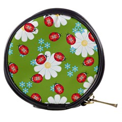 Insect Flower Floral Animals Star Green Red Sunflower Mini Makeup Bags