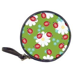 Insect Flower Floral Animals Star Green Red Sunflower Classic 20-CD Wallets
