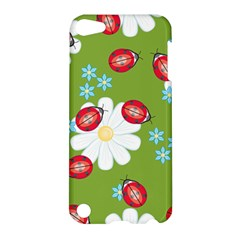 Insect Flower Floral Animals Star Green Red Sunflower Apple iPod Touch 5 Hardshell Case