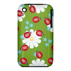 Insect Flower Floral Animals Star Green Red Sunflower iPhone 3S/3GS