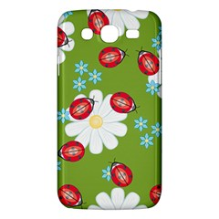 Insect Flower Floral Animals Star Green Red Sunflower Samsung Galaxy Mega 5.8 I9152 Hardshell Case