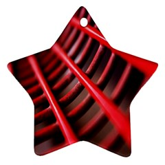 Abstract Of A Red Metal Chair Ornament (Star)