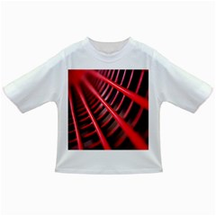 Abstract Of A Red Metal Chair Infant/Toddler T-Shirts