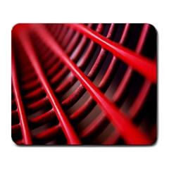 Abstract Of A Red Metal Chair Large Mousepads