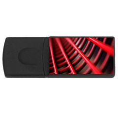 Abstract Of A Red Metal Chair USB Flash Drive Rectangular (1 GB)