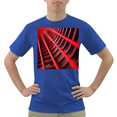 Abstract Of A Red Metal Chair Dark T-Shirt